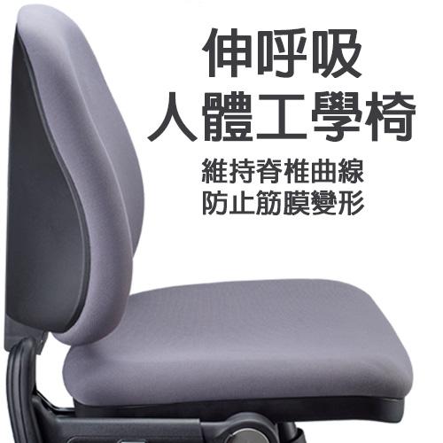 伸呼吸 人體工學電腦椅